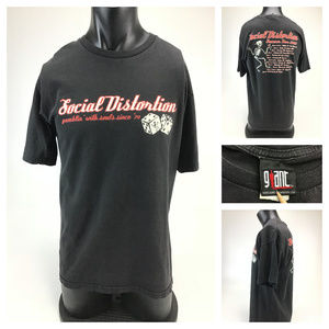 Social Distortion Summer Tour 2002 Giant T